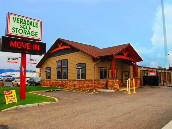 Veradale Self Storage 16714 E Sprague Ave Spokane Valley